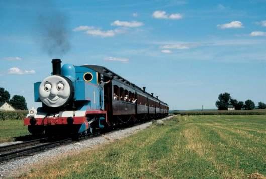 Thomas through field